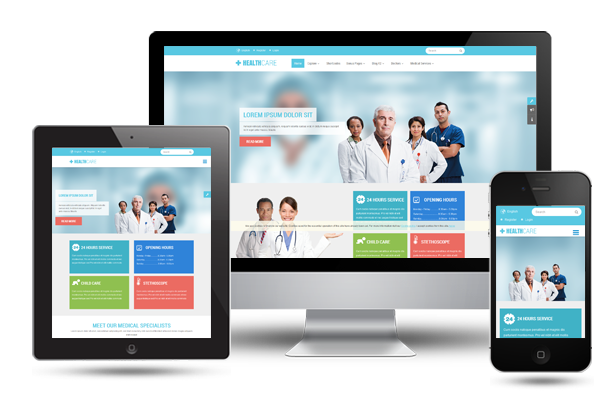 Healthcare - Fully Responsive