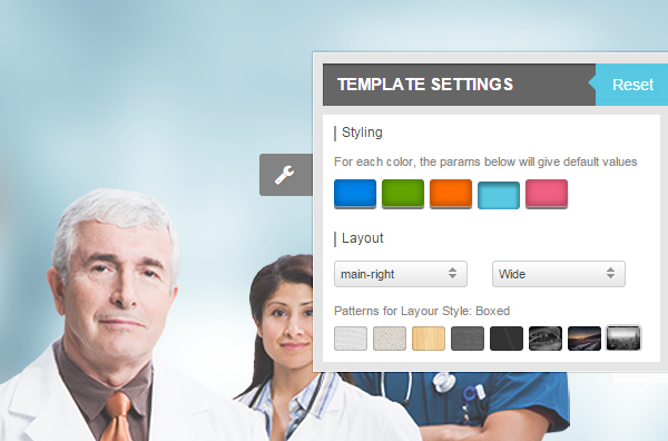 Healthcare - powerful cpanel