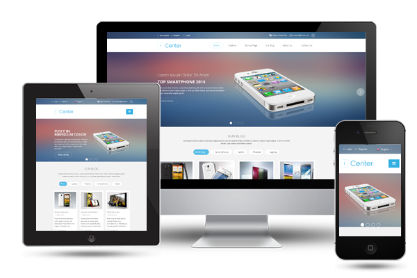 SJ iCenter - Fully Responsive