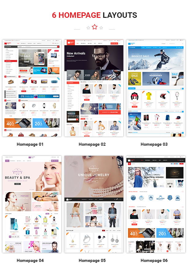 Shoppy Store - Responsive Prestashop Theme - Homepage