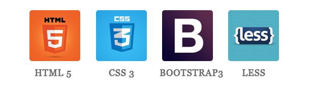 Hurama - HTML5, CSS3, BOOTSTRAP & LESS