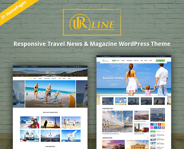 SW Urline - 2 homepages