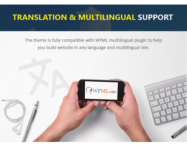 WPML multilingual Support