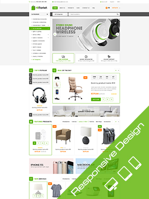 SW HiMarket - Responsive WooCommerce  Wordpress Theme