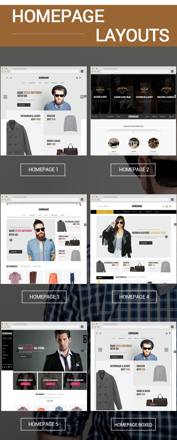 Jiordano A Trending Design For Fashion Woocommerce Wordpress Theme