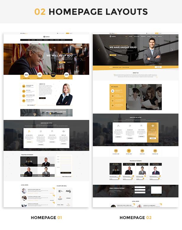 homepage_layouts_2 Justice - Responsive & Multipurpose WordPress Theme theme WordPress