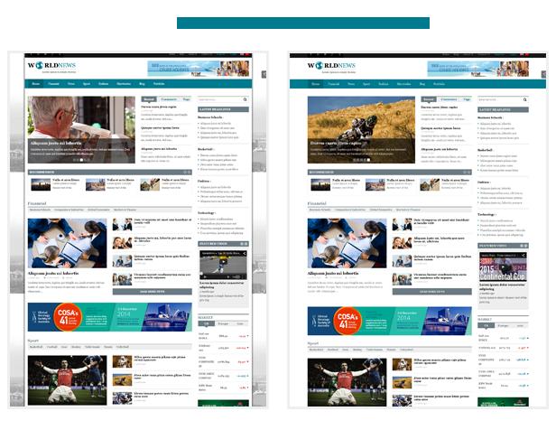 SW World News - Free Elegant WordPress Theme for Magazine websites