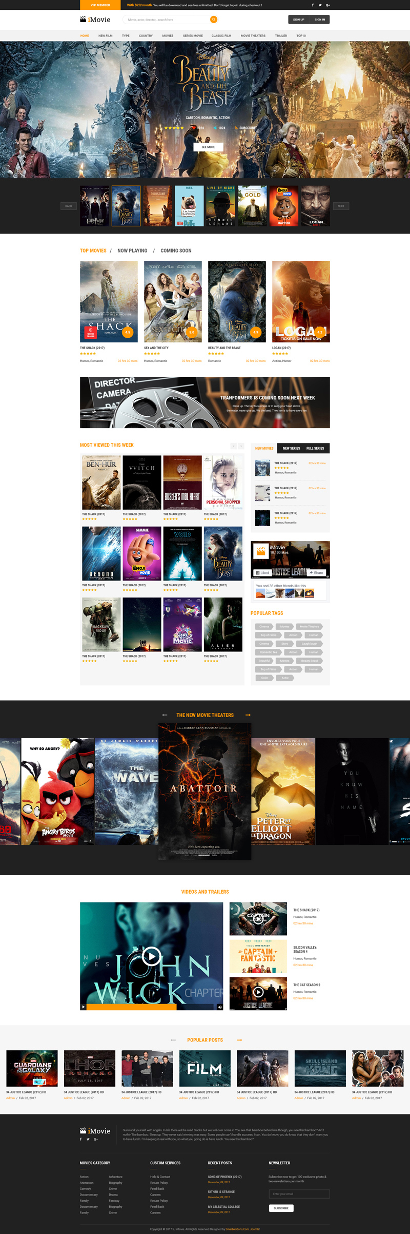 PREVIEW] Sj iMovie - Responsive Movies, Entertainment Joomla ...