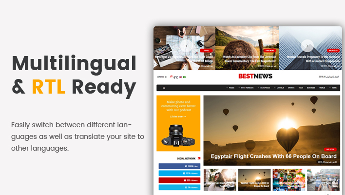 Sj BestNews - Premium News & Magazine Joomla Template