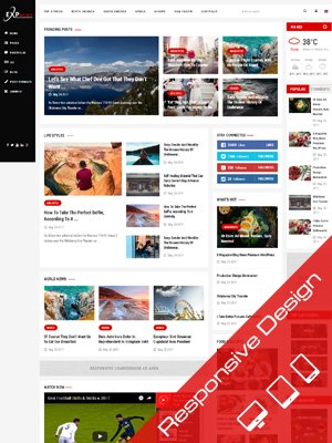 Sj ExpNews - Clean & Modern News Portal Joomla Template