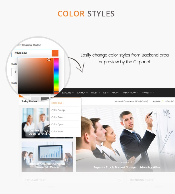 color styles