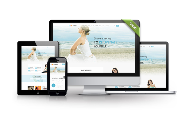 FULLY RESPONSIVE LAYOUT