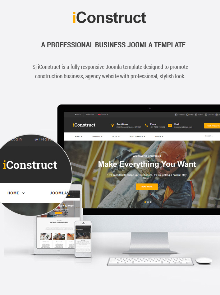 Responsive construction business joomla template sj iconstruct sj iconstruct responsive multipurpose business joomla template flashek Gallery
