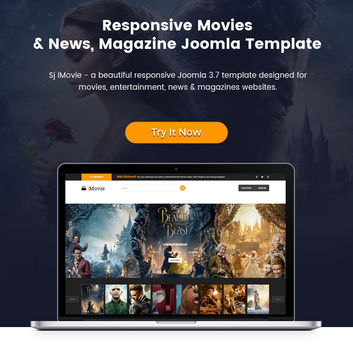 Sj imovie sj imovie responsive movies entertainment joomla template maxwellsz