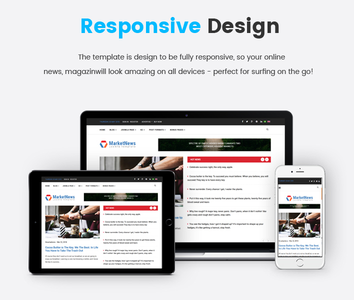 Sj MarketNews - Responsive Financial & Business News Joomla Template