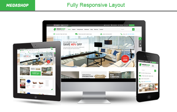 Megashop- Fully Responsive