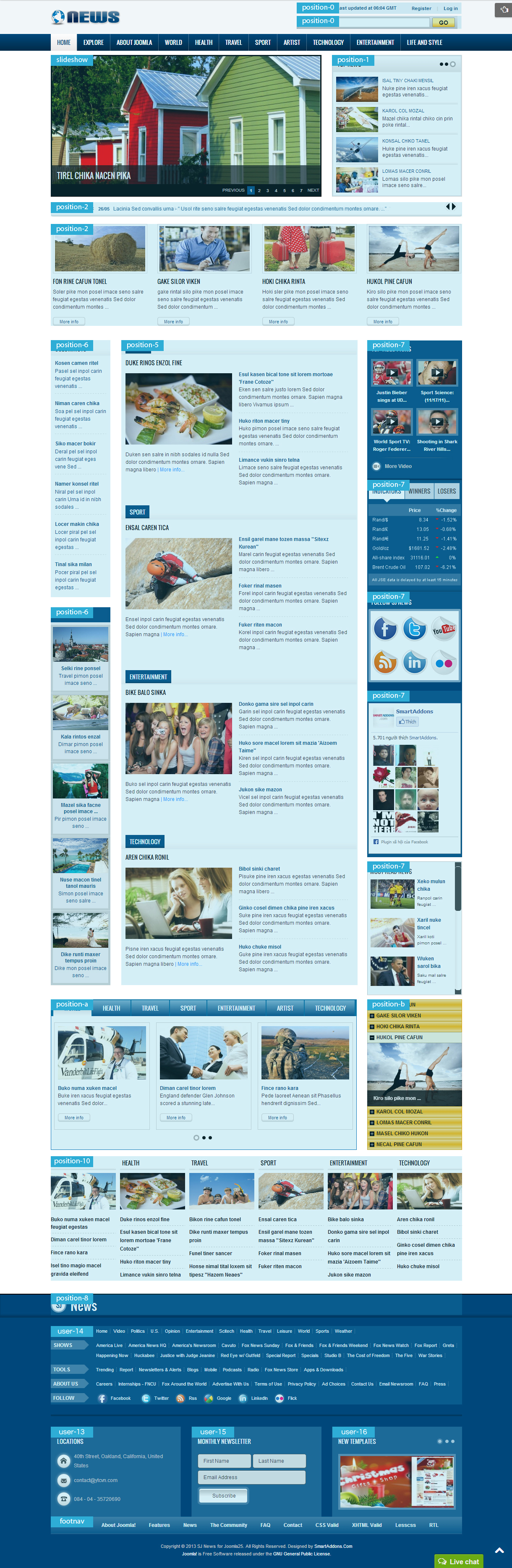 Wonderful Template Joomla Gratis Contemporary - Entry Level Resume ...