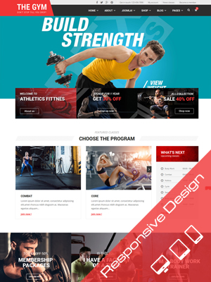 Sj TheGym - Gym, Yoga, Fitness, Gym Personal Trainer & Gym Shop Joomla Template