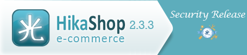 hikashop 2.3.3 with security release