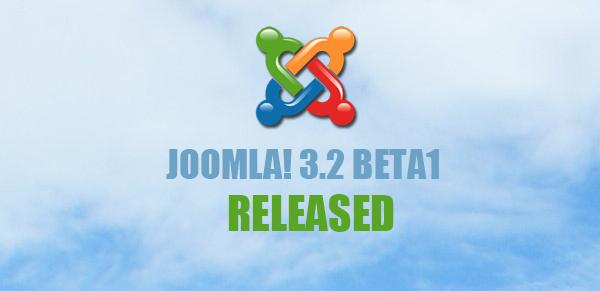 Joomla! 3.2 Beta1 Release