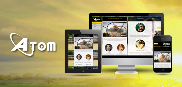SJ Atom - Responsive Joomla! Template for business site