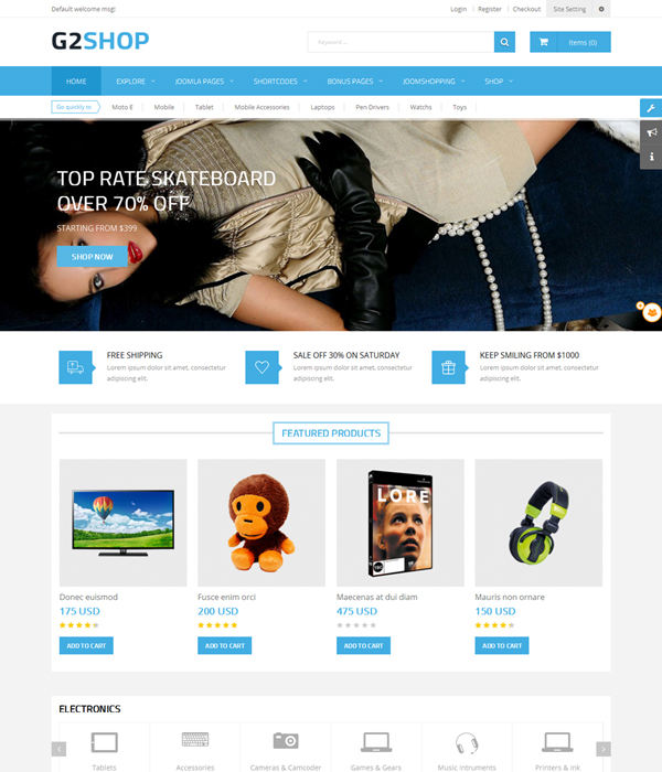 Best 15+ Free and premium Multipurpose Joomla Templates 3.9 and Joomla 4