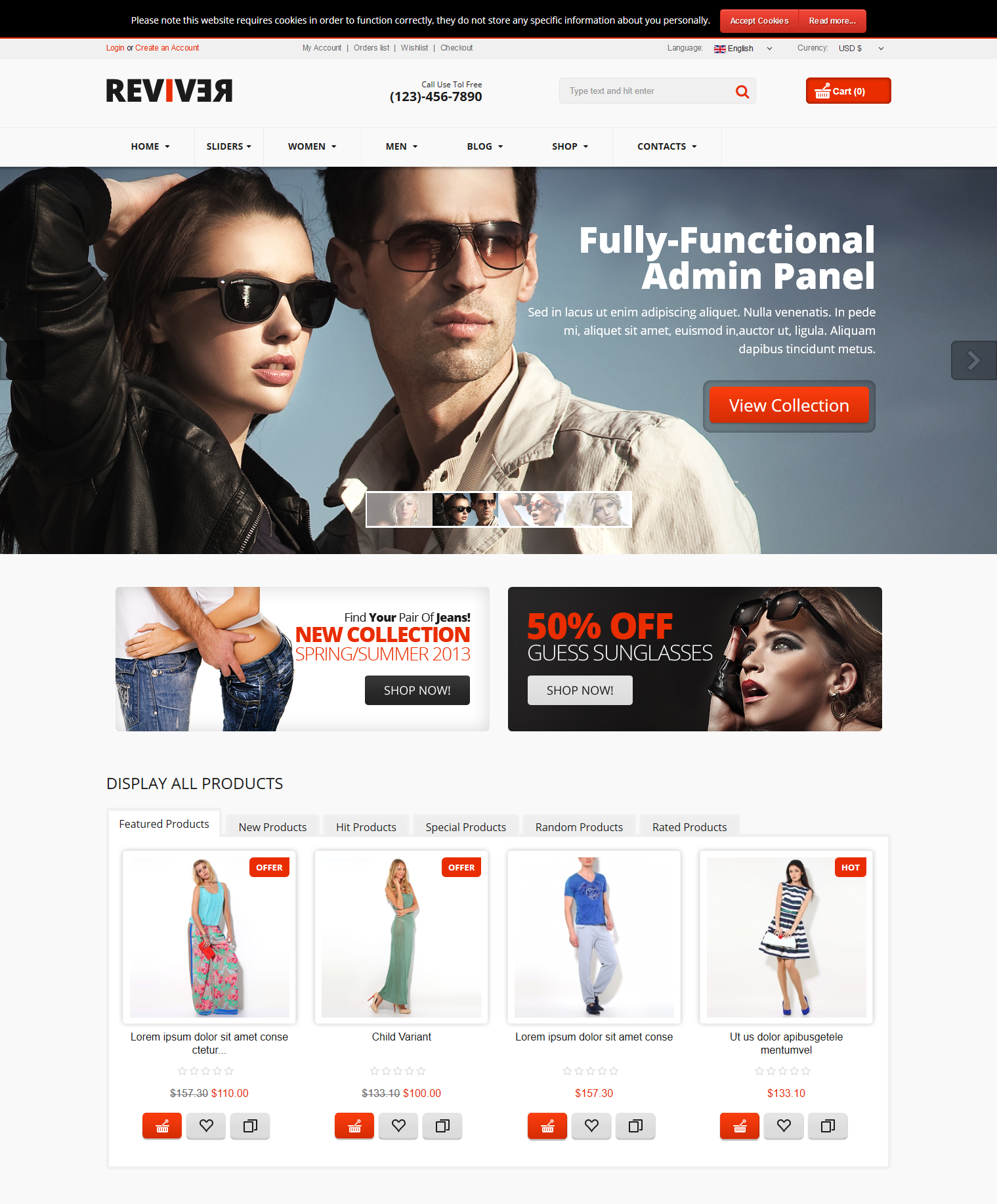 Best Virtuemart Templates For Your ECommerce Site - Free ecommerce website templates shopping cart