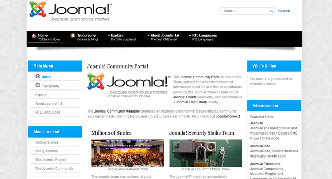 Top 5 Joomla templates for News portal and corporate websites ...
