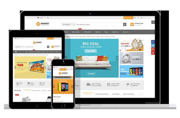 SJ Market for eCommerce store
