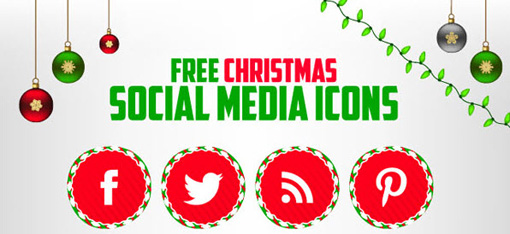 Christmas Resource Download - Social Media Icon Set