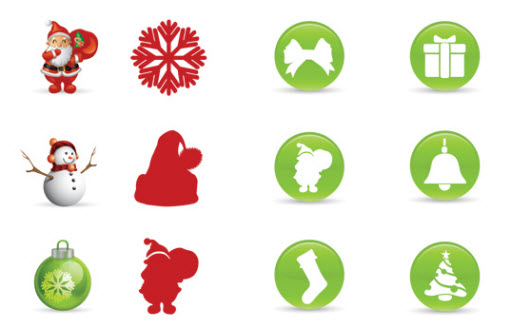 Christmas Resource Download - Smashing Christmas Icons Set