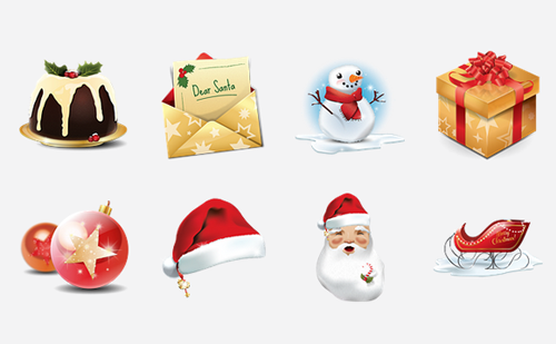 Christmas Resource Download - Cute Icons