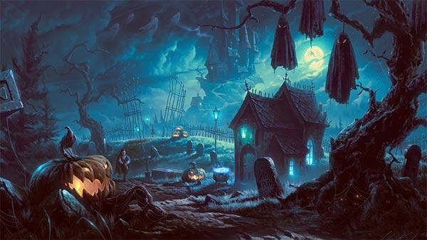 Halloween 2014 Background Wallpaper