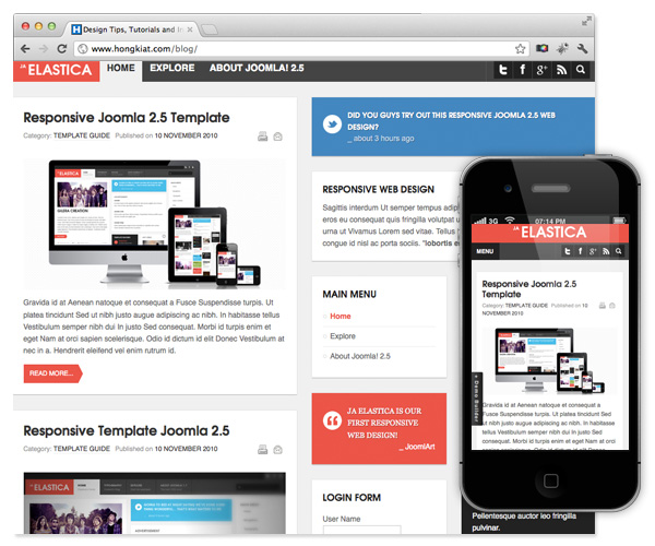 20 best free responsive joomla templates to build awesome for Free responsive joomla templates