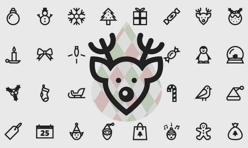 Christmas Freebies 30 High Quality Xmas Vector Graphics Will Inspire You