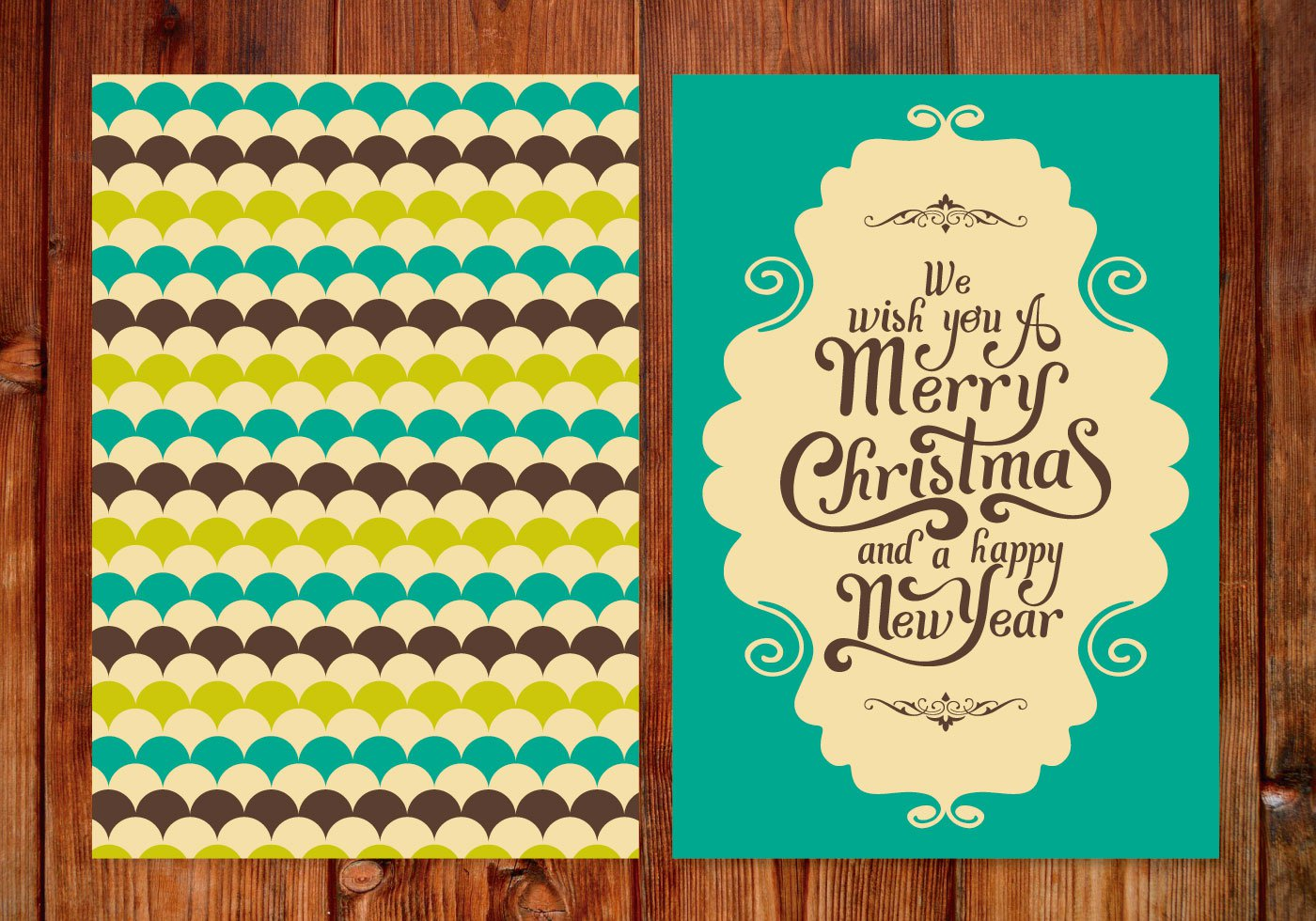 High-Quality Free Christmas Vector Graphics 2016 - Card