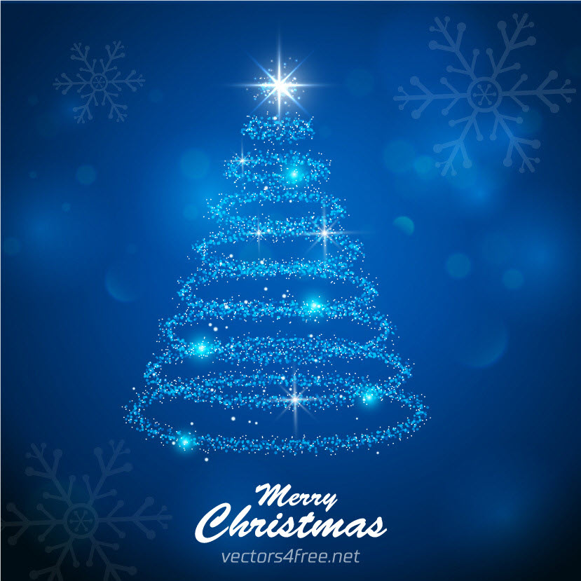 High-Quality Free Christmas Vector Graphics 2016 - Christmas Tree