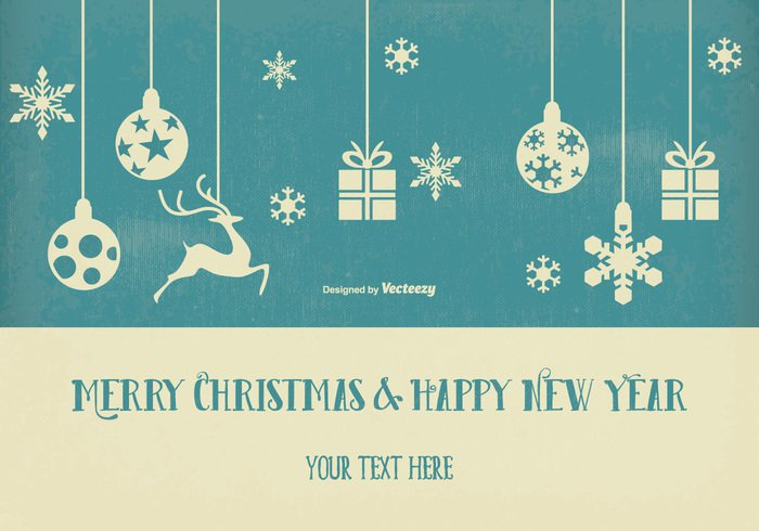 High-Quality Free Christmas Vector Graphics 2016 - 24