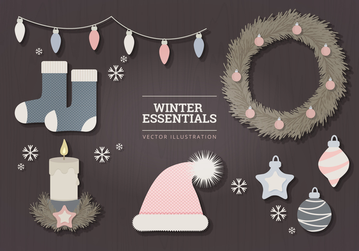 High-Quality Free Christmas Vector Graphics 2016 - 22
