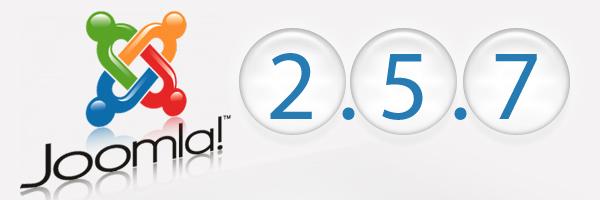 Joomla 2.5.7