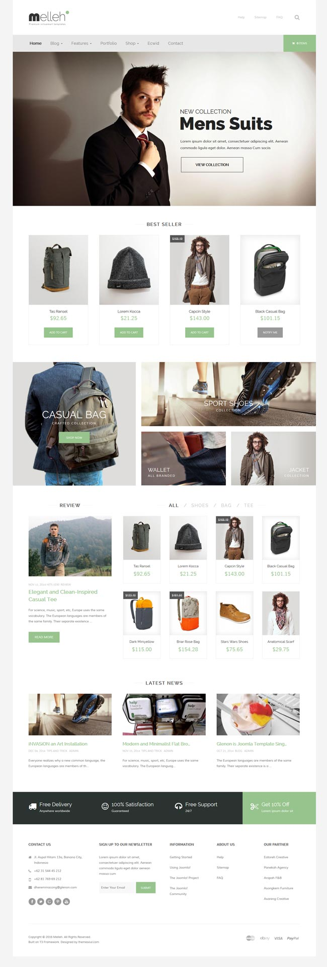 10 Best Joomla Ecommerce templates