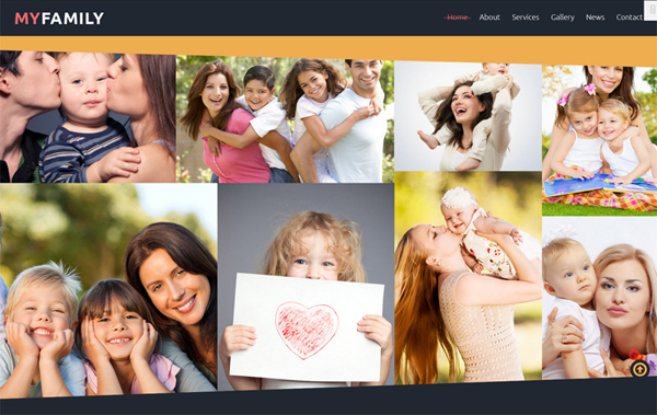 Family Center Free Joomla Template