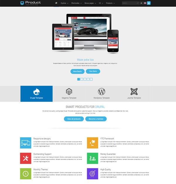 SJ Product - Responsive Joomla Template