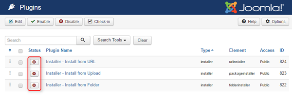 issues that may appear while updating to Joomla 3.6.1 or later
