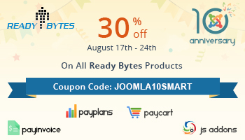 Offer from Ready Bytes