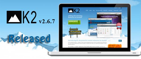 K2v2.6.7 released