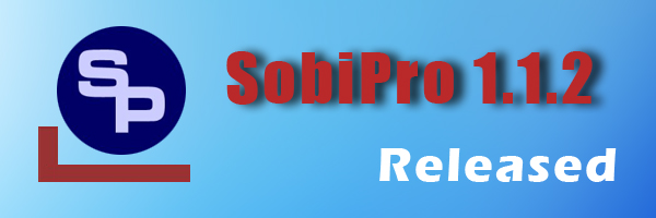 SobiPro 1.1.2 released