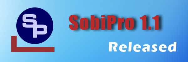 SobiPro 1.1 released