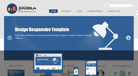 top free joomla templates from smartaddons, Powerpoint templates