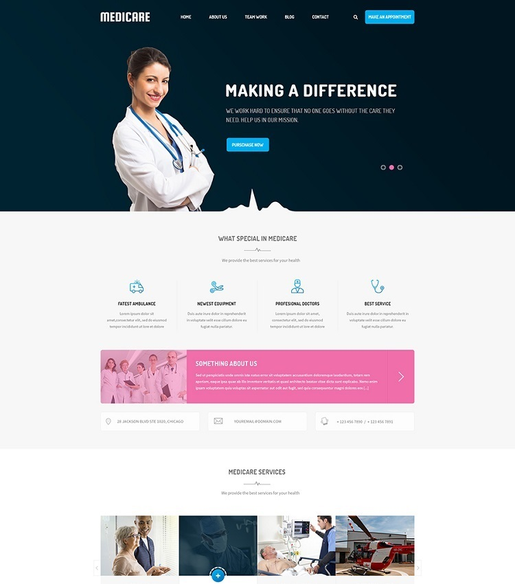 Best Medical & Healthcare Joomla Templates in 2019
